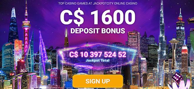WowPot slots at Jackpot City Casino